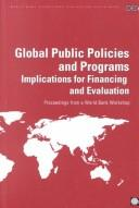 Cover of: Global public policies and programs |