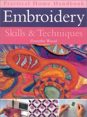 Cover of: Embroidery Skills & Techniques (Practical Handbooks (Lorenz))