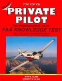 Cover of: Private Pilot FAA Knowledge Test | Irvin N. Gleim