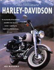 Cover of: The Ultimate Harley-Davidson | Mac McDiarmid