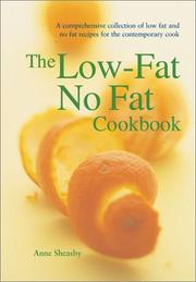 Cover of: The Low-Fat No Fat Cookbook (Textcooks)
