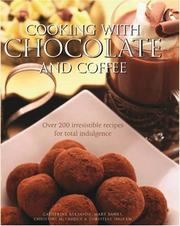 Cover of: Cooking With Chocolate and Coffee | Catherine Atkinson