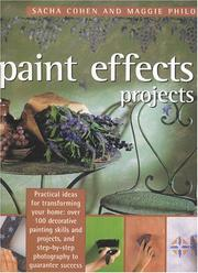 Cover of: Paint Effects Projects | Sacha Cohen