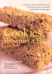Cover of: Textcook: Cookies, Brownies and Bars | Catherine Atkinson