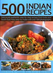 Cover of: 500 Indian Recipes by Shezad Husain