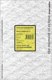 Cover of: The moment of eclipse