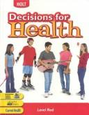 Cover of: Decisions for Health | Katy Z. Allen
