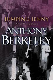 Cover of: Jumping Jenny (A Roger Sheringham Case)