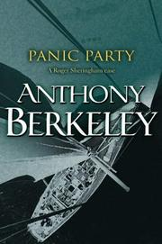 Cover of: Panic Party (A Roger Sheringham Case)
