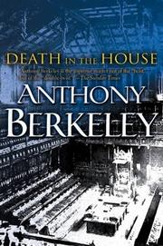 Cover of: Death in the house