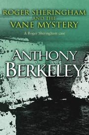 Cover of: Roger Sheringham and the Vane Mystery