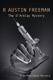 Cover of: The D'Arblay Mystery (A Dr Thorndyke Mystery)