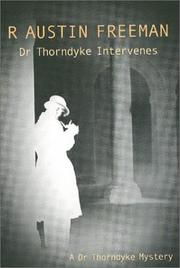 Cover of: Dr. Thorndyke intervenes