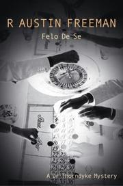 Cover of: Felo De Se