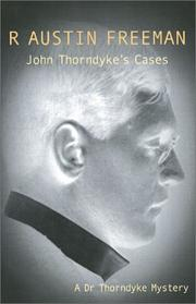 Cover of: John Thorndyke's Cases