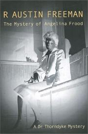 Cover of: The Mystery of Angelina Frood