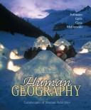 Cover of: Human Geography | Landscapes of Human Activities | 8th Edition |