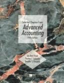 Cover of: Selected Chapters from Advanced Accounting