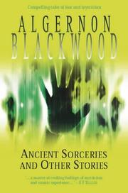 Cover of: ANCIENT SORCERIES - and Other Stories