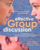 Cover of: Effective Group Discussion | John K. Brilhart