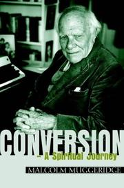 Cover of: Conversion: a spiritual journey