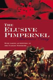 Cover of: The Elusive Pimpernel (Scarlet Pimpernel)