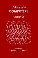 Cover of: Advances in Computers | Marshall C. Yovits