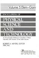 Cover of: Encyclopedia of Physical Science & Technology, 5 | Robert A. Meyers