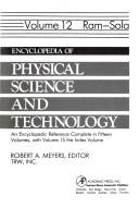 Cover of: Encyclopedia of Physical Science and Technol Volume 12 | Robert A. Meyers