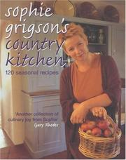 Cover of: Sophie Grigson's Country Kitchen