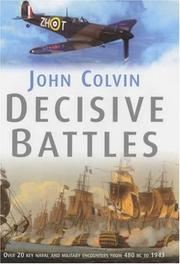 Cover of: Decisive Battles