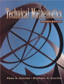 Cover of: Technical Mathematics | Paul Calter