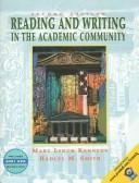 Cover of: Reading and Writing in the Academic Community with 2001 APA Guidelines