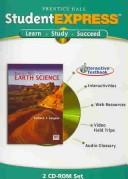 Cover of: Student Express CD-ROM for Prentice Hall Earth Science | Edward J. Tarbuck