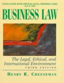 Cover of: Study Guide With Critical Legal Thinking Cases : Business Law  | Nan S. Ellis