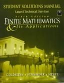 Cover of: Finite Mathematics & Its Applications | Larry Joel Goldstein