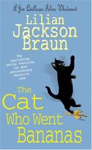 Cover of: The Cat Who Went Bananas (Cat Who...)