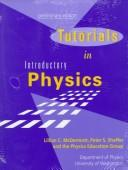 Cover of: Tutorials in Introductory Physics and Homework Manual Package | Lillian C. McDermott
