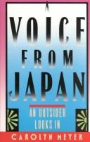 Cover of: A voice from Japan: An Outsider Looks In