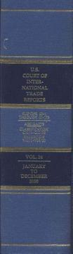Cover of: United States Court of International Trade Reports, Volume 24 | Leo M. Gordon