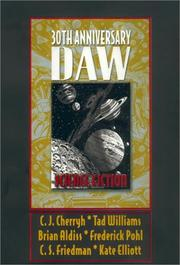 Cover of: Science fiction DAW 30th anniversary |