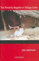 Cover of: The Poverty Regime in Village India