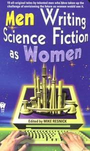 Cover of: Men writing science fiction as women |