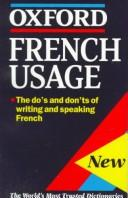 Cover of: Oxford Minireference French Usage (Oxford Mini Reference) |