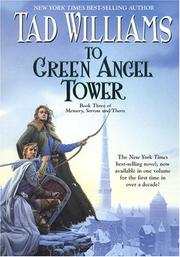 Cover of: To Green Angel Tower, Book Three: Memory, Sorrow, and Thorn (Memory, Sorrow, & Thorn)
