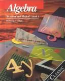 Cover of: Algebra and Trigonometry Structure and Method Book 2/Teachers Ed