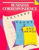 Cover of: Business Correspondence