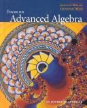Cover of: Focus on Advanced Algebra