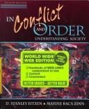 Cover of: In Conflict and Order: Understanding Society