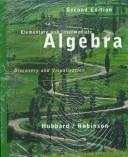 Cover of: Elementary and Intermediate Algebra